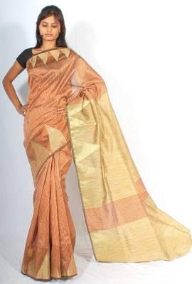 Supernet banarasi ghiccha check zari temple saree