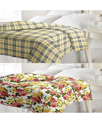 Set of Single Bed Reversible AC Blanket