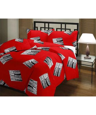Abbstract Design Printed Single Bed Reversible AC Blanket Dohar