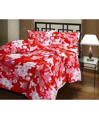 floral print Printed Single Bed Reversible AC Blanket Dohar