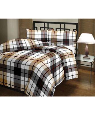geometric print Design Printed Single Bed Reversible AC Blanket Dohar