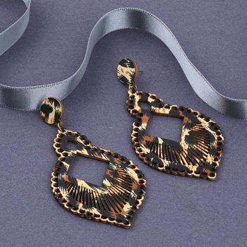 Party Wear Dangler  Wooden Earrings For Girls and Women