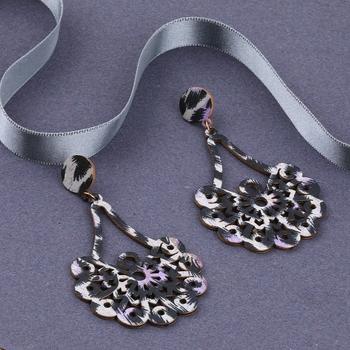 Wooden Light Weight Dangle Earrings for Girls and Women.