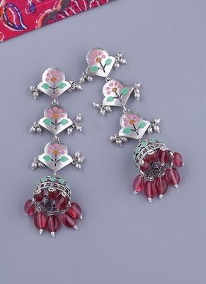 Bagh E Fiza Dreamy Layered Drop Earrings