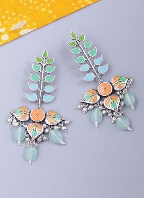 Bagh E Fiza Colourful Enamel Embellished Earrings