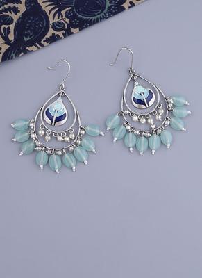Bagh E Fiza Green Beads Earrings