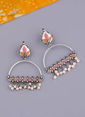 Bagh E Fiza Metal Embellishments Earrings