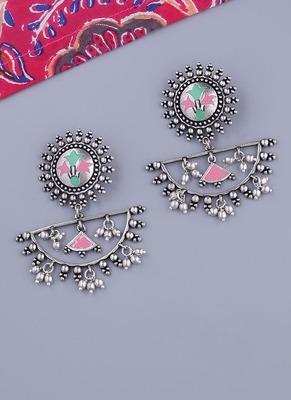 Bagh E Fiza Half Moon Earrings