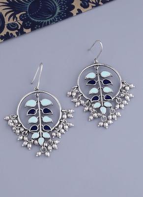 Bagh E Fiza Hoop Style Earrings