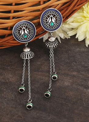 Apinaya Tassels Drop Earrings