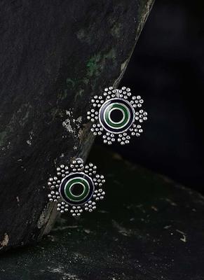 Mehrunisa Floral Stud Earrings