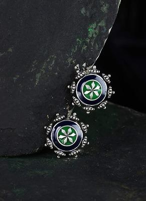 Mehrunisa Floral Stud Style Earrings