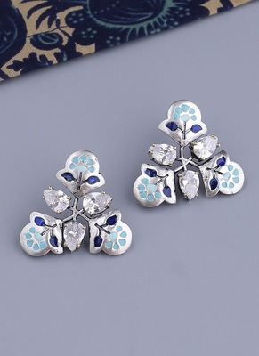 Bagh E Fiza Pastel Floral Earrings