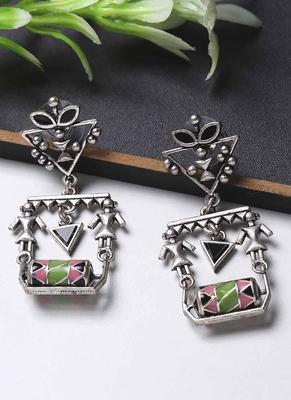 Adorned Spin Scrolls Earrings