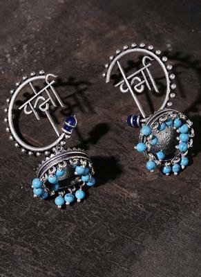 Moksha Semi Circle Jhumka Earrings