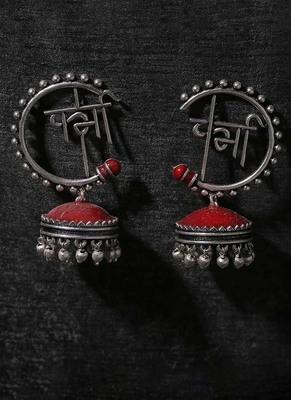 Moksha Semi Circle Earrings