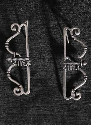 Moksha Archery Bow Earrings