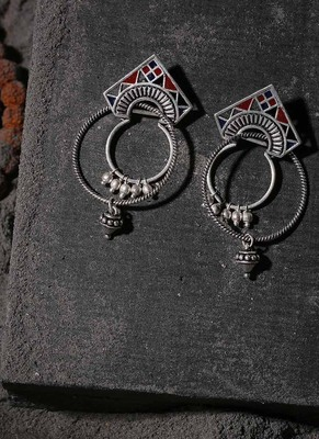 Moksha Tribal Hoop Earrings
