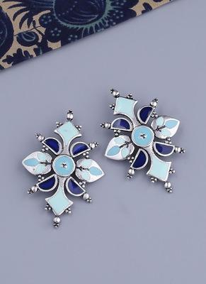 Bagh E Fiza Dreamy Enamel Earrings