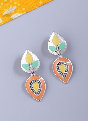 Bagh E Fiza Floral Design Earrings