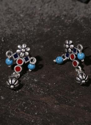 Moksha Floral Drop Earrings