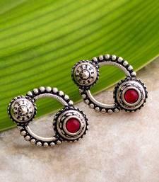 Abhira Ethnic Hoop Earrings