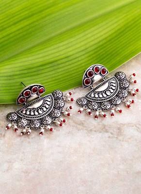 Abhira Half Moon Earrings