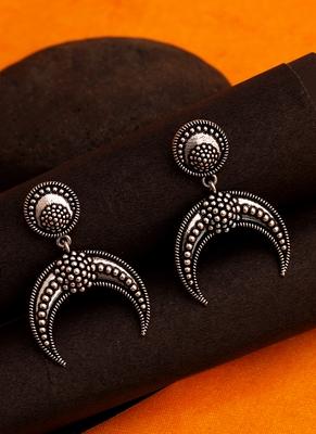Baigani Crescent Drop Earrings