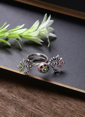 Adorned Spin Petals Ring