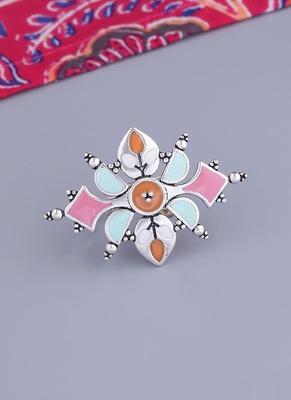 Bagh E Fiza Enamel Embellished Ring