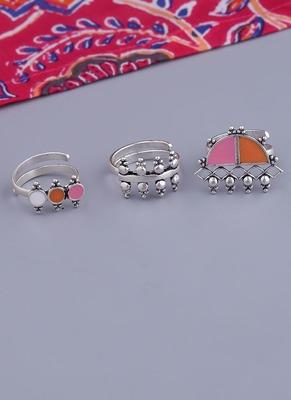 Bagh E Fiza Set of 3 Rings