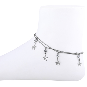 Adjustable Double line Delicated Anklet For women Girl