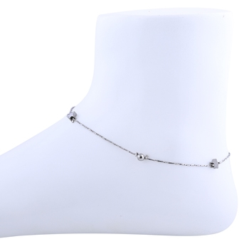 Delicated star Bead Silver Plated Anklet For Women Girl.