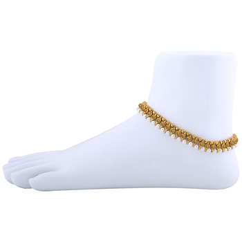 Gold Plated stylish Anklet For Women And Girl.