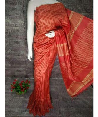 red hand woven poly silk handloom sarees