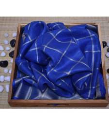 blue woven linen handloom saree with blouses