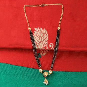 Traditional multi chain Gold Plated Mangalsutra For Women