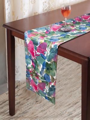 Houzzcode Floreado Printed Table Runner 30cm x 180cm