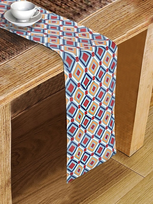 Houzzcode Abstract Printed Table Runner 30cm x 180cm