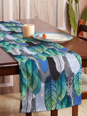 Houzzcode Tropical Printed Table Runner 30cm x 180cm