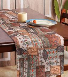 Houzzcode Traditional Printed Table Runner 30cm x 180cm