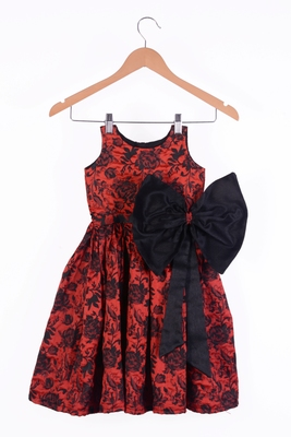 Kids Red Frock