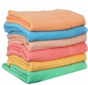Milap Multicolors Cotton Hand Towels