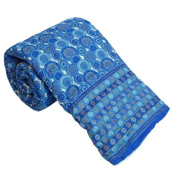 blue cotton Handcrafted Jaipuri Razai (Quilt)