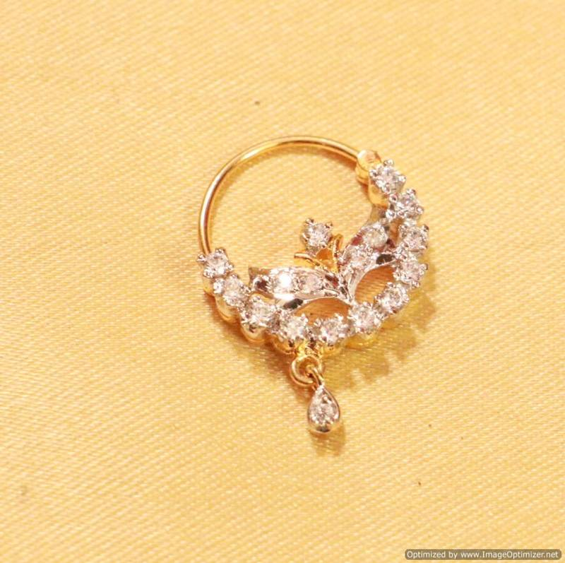 Diamond nose ring online shopping