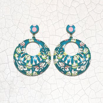 Attractive Ethnic Drop Earrings Light Weight for Girls and Women.
