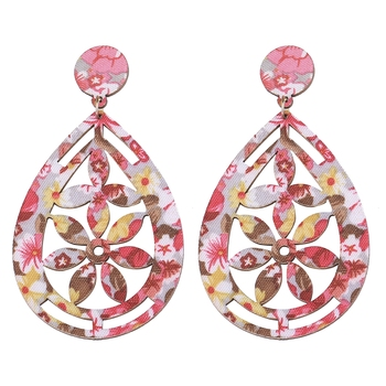 Wonderful Attractive Wooden Light Weight Dangle Earrings for Girls and Women.