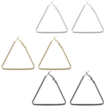 Attractive Stylish Triangle Shape Earring Combo For Women Girl.