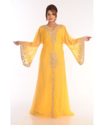 Ethinc Women Arabic Elegant Lowest For Daily Use Kaftan