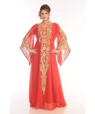 Dubai Morocan Arabic Islamic Kaftan Dress